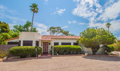 Tucson Single Family Home For Sale: 142 N Country Club Road