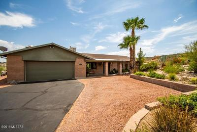 Tucson Single Family Home Active Contingent: 7340 E Snyder Road