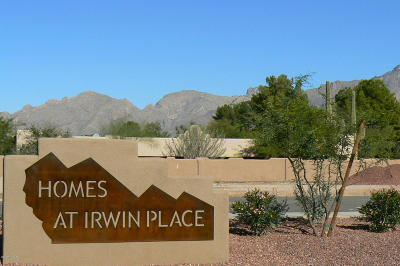 Tucson Single Family Home For Sale: 1093 E Irwin Place