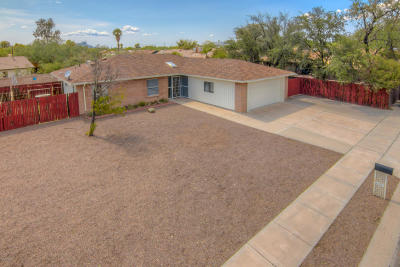 Tucson Single Family Home Active Contingent: 6281 N Saffron Road