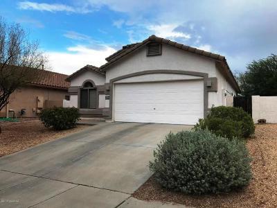 Tucson Single Family Home Active Contingent: 6175 W Sandburg Court