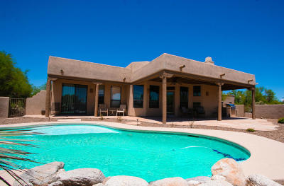Tucson Single Family Home Active Contingent: 4211 W Crater Creek Place
