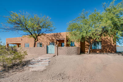 Tucson Single Family Home Active Contingent: 6573 N Silverbell Road