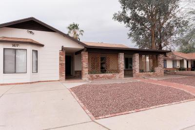 Tucson Single Family Home Active Contingent: 1617 W Trendwood Drive
