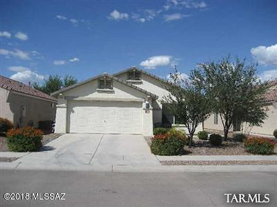 Tucson Single Family Home For Sale: 7900 W School Hill Place