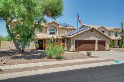 Oro Valley Single Family Home Active Contingent: 12571 N Granville Canyon Way