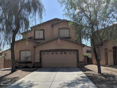 Tucson Single Family Home For Sale: 8371 N Weston Place