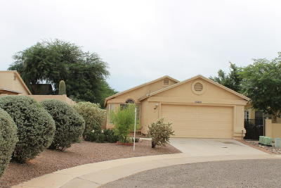 Pima County Single Family Home Active Contingent: 3377 W Evening Star Court