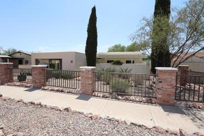 Tucson Single Family Home Active Contingent: 2797 W Saint Tropaz Avenue