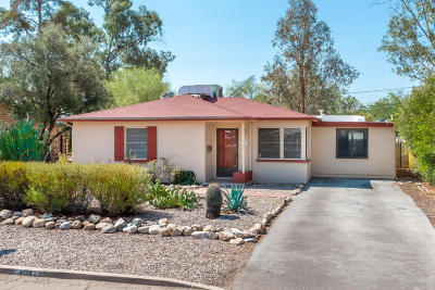 Tucson Single Family Home Active Contingent: 4142 E Linden Street