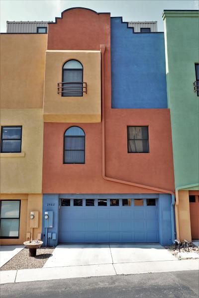 Tucson Townhouse For Sale: 2642 E Blue Diamond Drive