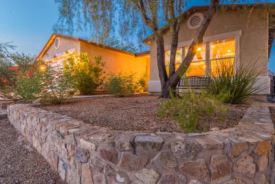 Tucson Single Family Home Active Contingent: 3335 S Desert Echo Road