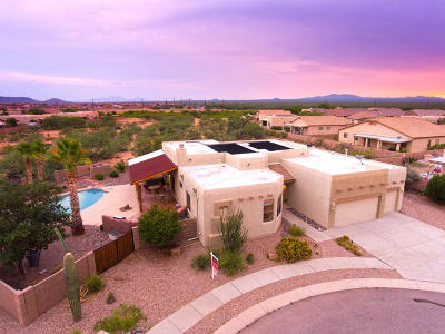 Pima County Single Family Home Active Contingent: 7905 W Little Eagle Court