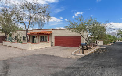 Tucson Single Family Home For Sale: 3731 N Avenida Arbodela