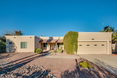 Tucson Single Family Home For Sale: 7865 E Pinon Circle