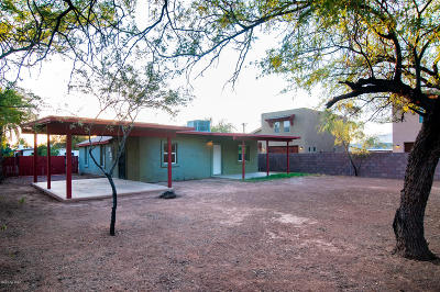 Tucson Single Family Home For Sale: 2714 N Calle De Romy