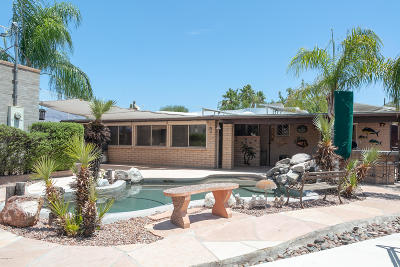 Tucson Single Family Home Active Contingent: 4755 N Maddux Avenue