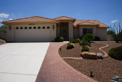 Saddlebrooke Single Family Home Active Contingent: 65735 E Desert Sands Drive