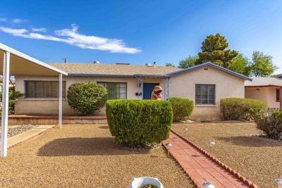 Tucson Single Family Home For Sale: 2619 E 21st Street