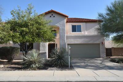 Tucson Single Family Home Active Contingent: 550 E Wagon Bluff Drive