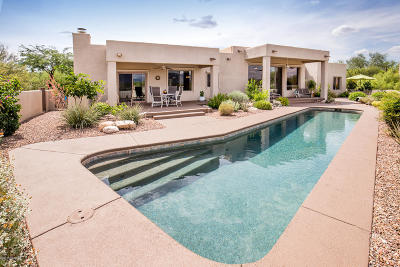 Tucson Single Family Home Active Contingent: 1262 E Placita Oro Fino E