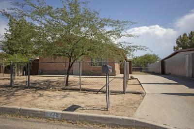 Tucson Single Family Home For Sale: 446 E Delano Street