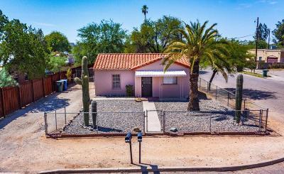 Tucson Single Family Home Active Contingent: 802 E Hedrick Drive