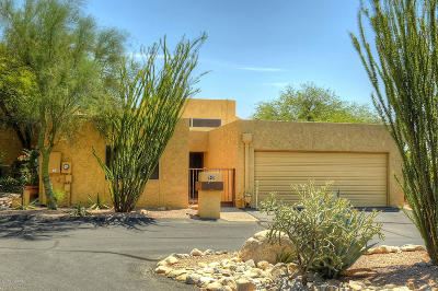 Tucson Townhouse For Sale: 743 E Placita Del Mirador