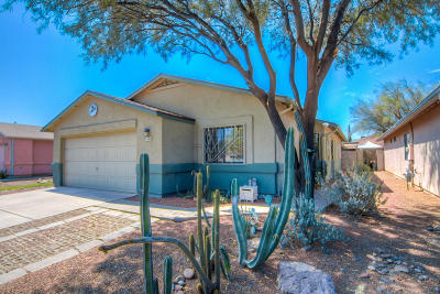 Tucson Single Family Home For Sale: 1621 W Thorne Street