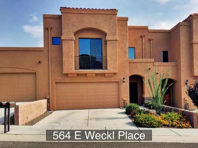 Tucson Townhouse Active Contingent: 564 E Weckl Place