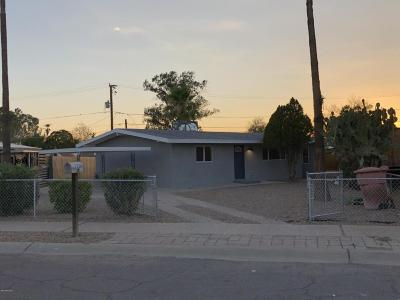 Pima County, Pinal County Single Family Home Active Contingent: 2326 S Sawtelle Avenue