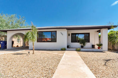 Tucson Single Family Home For Sale: 137 W 28th Street