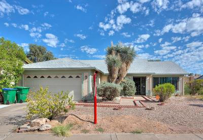 Tucson AZ Single Family Home For Sale: $149,000