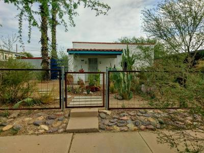 Tucson Single Family Home Active Contingent: 1452 W Sonora Street