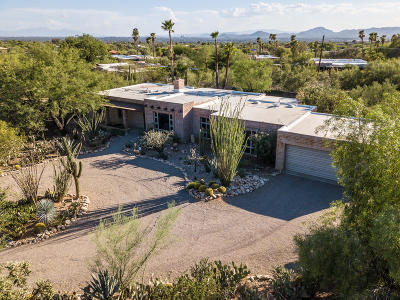 Pima County Single Family Home For Sale: 5901 N Camino Miraval