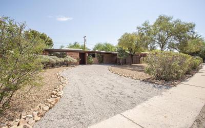 Tucson Single Family Home Active Contingent: 6133 E Sunny Drive