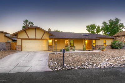 Tucson Single Family Home For Sale: 4281 N Ventana Drive
