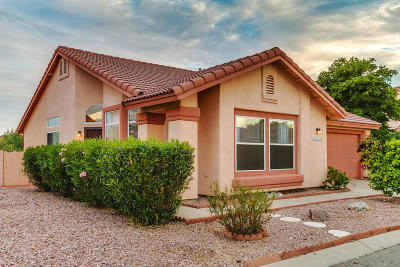 Tucson Single Family Home Active Contingent: 2987 W Sawmill Spring Trail
