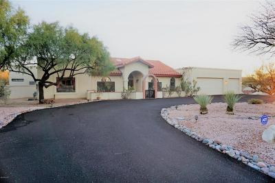 Tucson AZ Single Family Home Active Contingent: $485,000