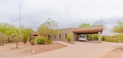 Tucson Single Family Home Active Contingent: 7800 S Camino Mirlo