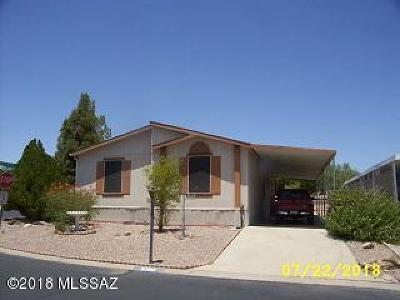 Corona De Tucson, Green Valley, Marana, Mt. Lemmon, Oro Valley, South Tucson, Tucson, Vail Manufactured Home For Sale: 3396 W Excalibur Road
