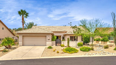 Saddlebrooke Single Family Home For Sale: 38426 S Lake Crest Drive