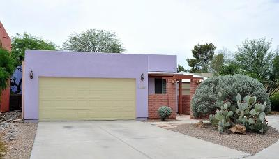 Tucson Single Family Home Active Contingent: 1402 E English Ivy Court