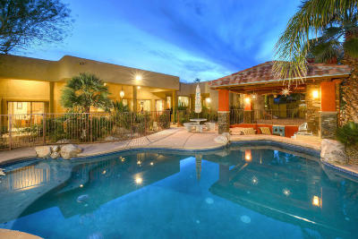 Tucson AZ Single Family Home Active Contingent: $1,025,000