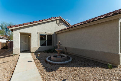 Tucson Single Family Home Active Contingent: 3951 W Pine Creek Way