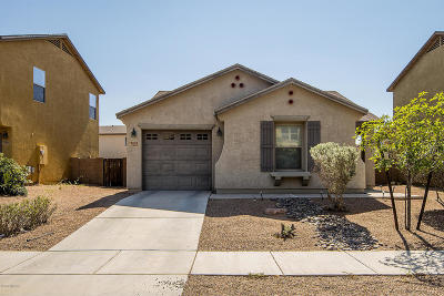 Pima County Single Family Home Active Contingent: 7032 S Blueeyes Drive