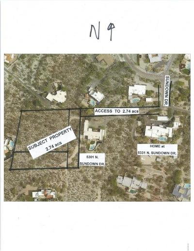 Tucson Residential Lots & Land Active Contingent: N Sundown Drive