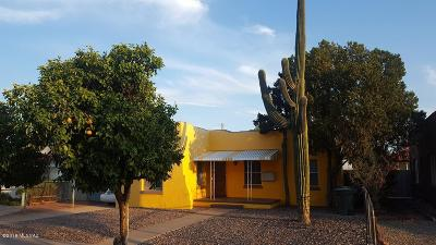 Tucson Single Family Home For Sale: 1322 E 9th Street