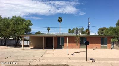 Tucson Single Family Home For Sale: 8141 E 6th Street
