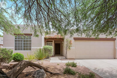 Pima County, Pinal County Single Family Home Active Contingent: 6224 N Yellow Wood Trail